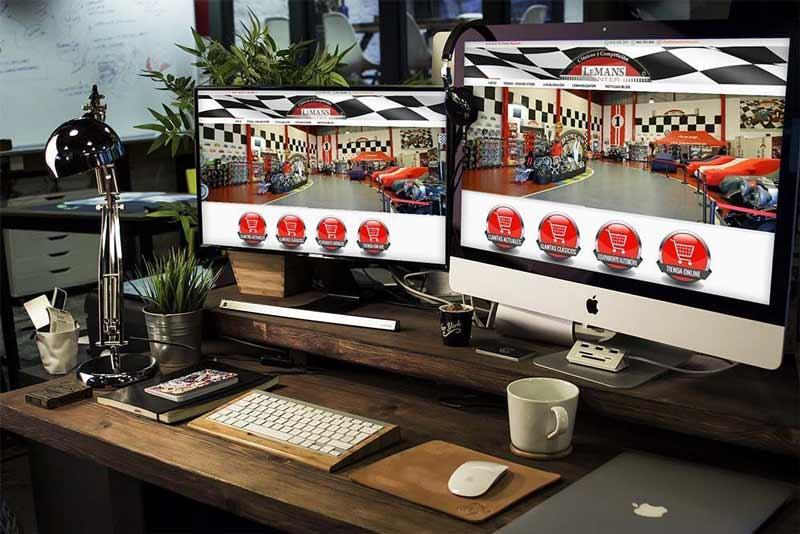 Diseño Tienda Online Lemans Center
