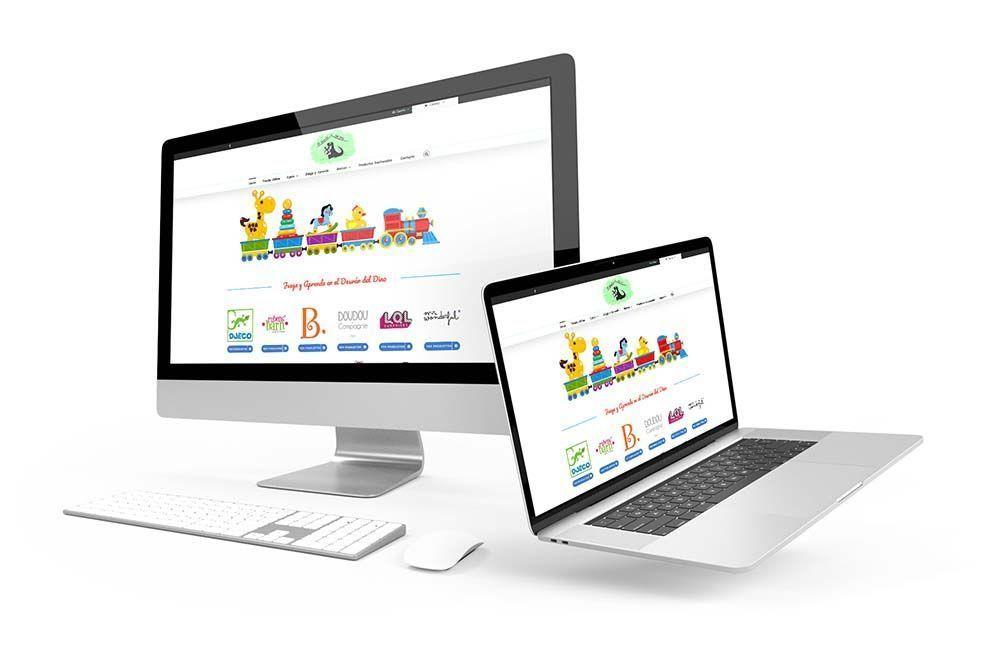 Diseño Tienda Online Woocommerce El Desvan del dino