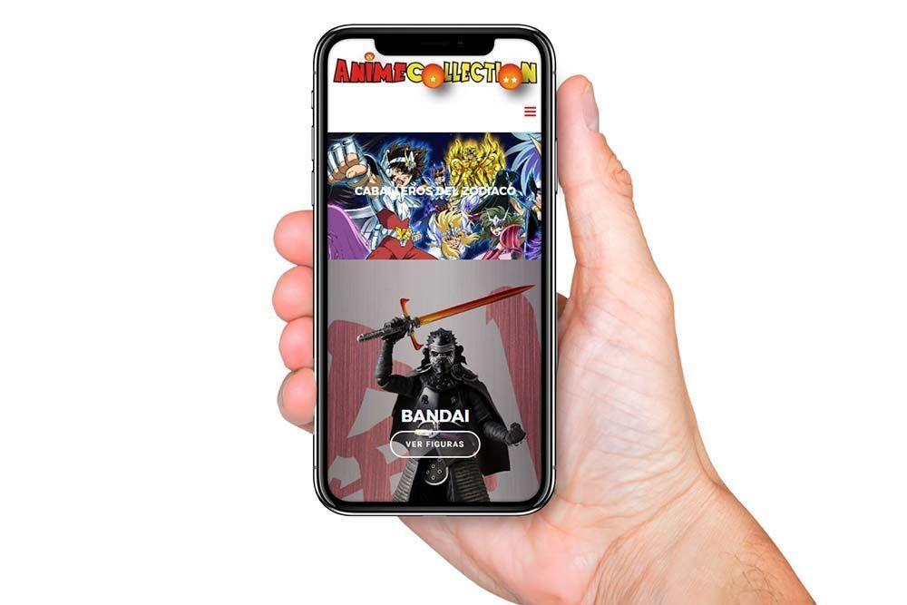 Diseño tienda online anime collection01