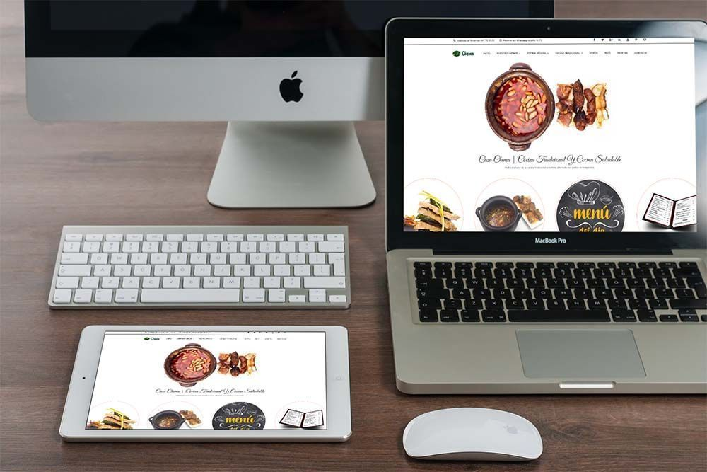 Diseño web Casa Chema Dispositivos