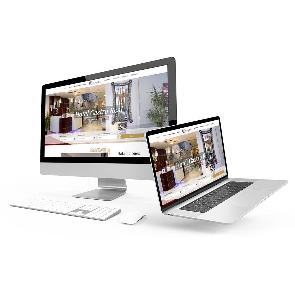 Diseño web Hotel Castro Real Responsive