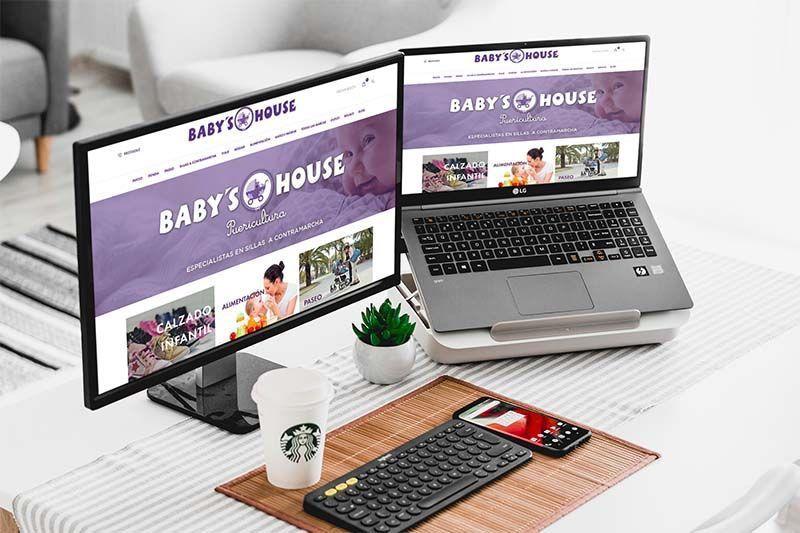 Diseño tienda online Baby's House
