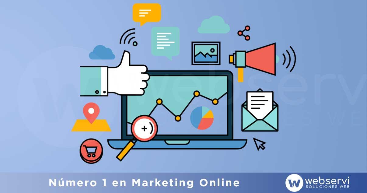 Número uno en marketing online