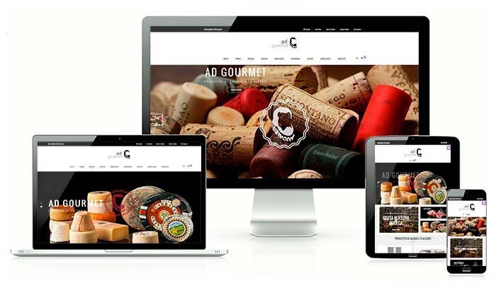 Diseño Tienda Online ADGOURMET