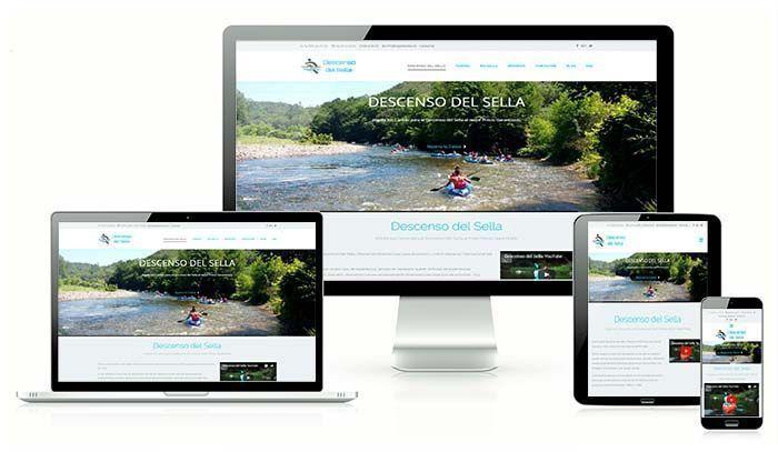 Diseño web Wordpress Bajarelsella.es