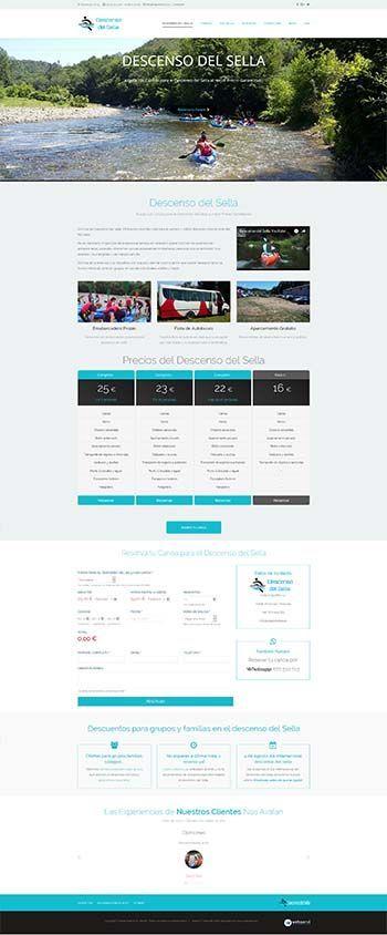 Diseño web Responsive bajarelsella.es