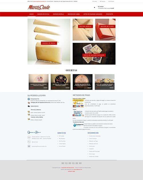 Diseño tienda Online Marcos Conde Virtuemart>