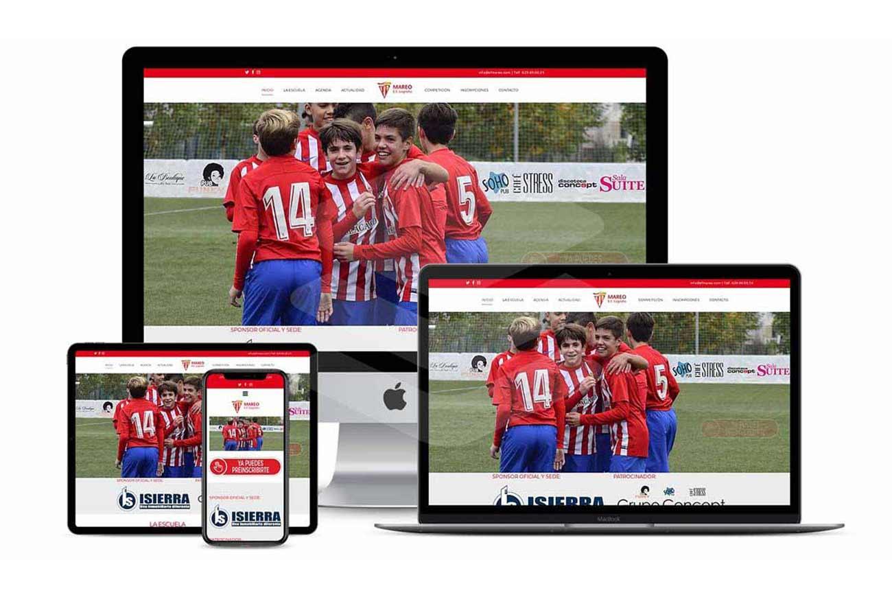 Diseño Web EF Mareo