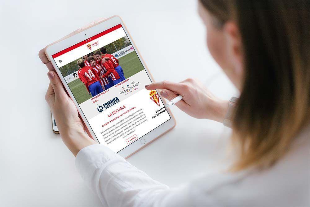 Diseño Web EF Mareo iPad