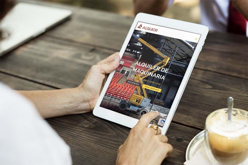 Diseño Wen iPad Alquior