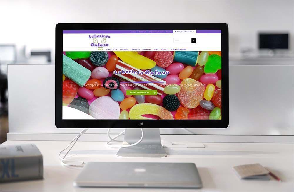 Diseño Tienda Online Woocommerce Laberinto Goloso