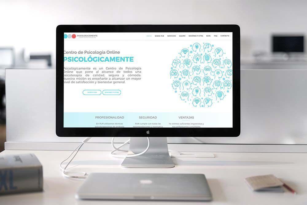 Diseño web iMac PLM