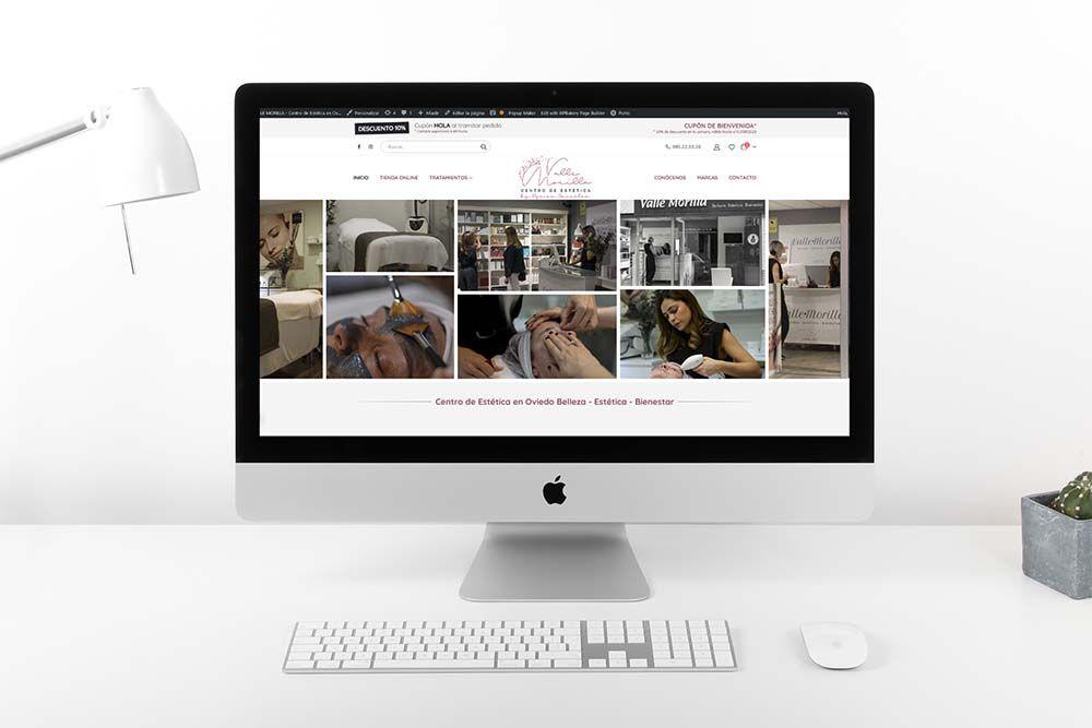 Diseño Tienda Online Woocommerce Valle Morilla Mac