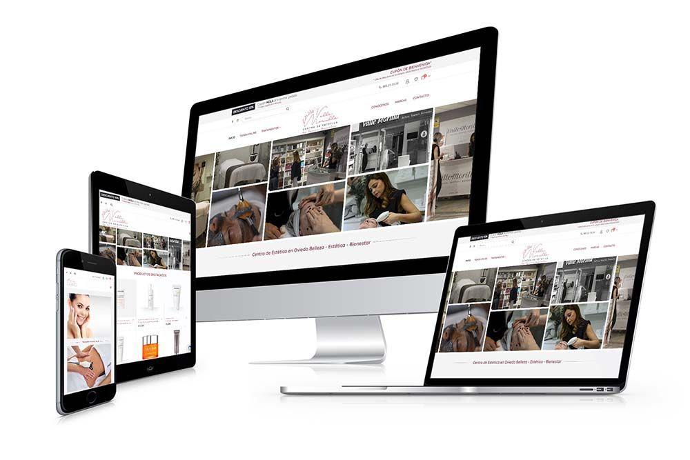 Diseño Tienda Online Woocommerce Valle Morilla Responsive