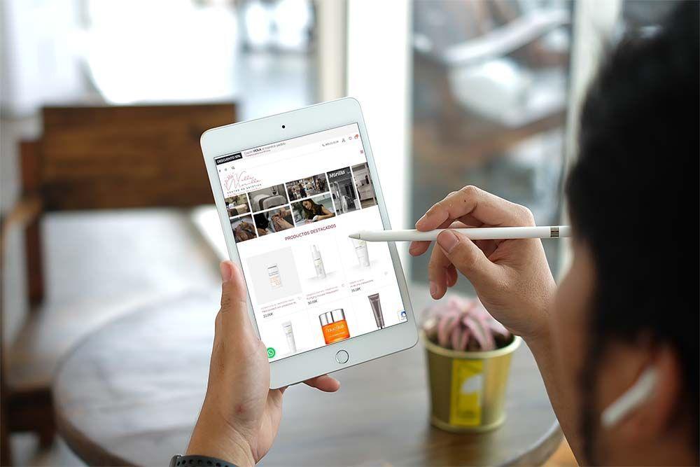 Diseño Tienda Online Woocommerce Valle Morilla iPad