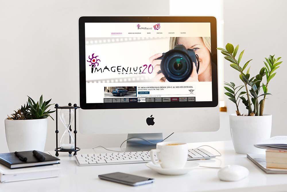 Diseño web Veranoimagenius iMac