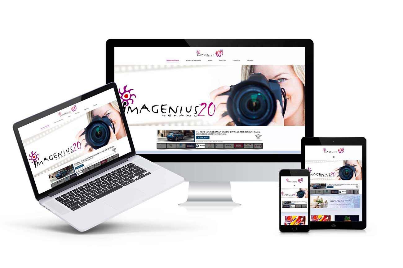 Diseño web Veranoimagenius