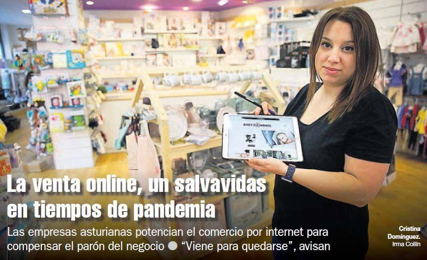 VENTA ONLINE, SALVAVIDAS EN TIEMPOS DE PANDEMIA