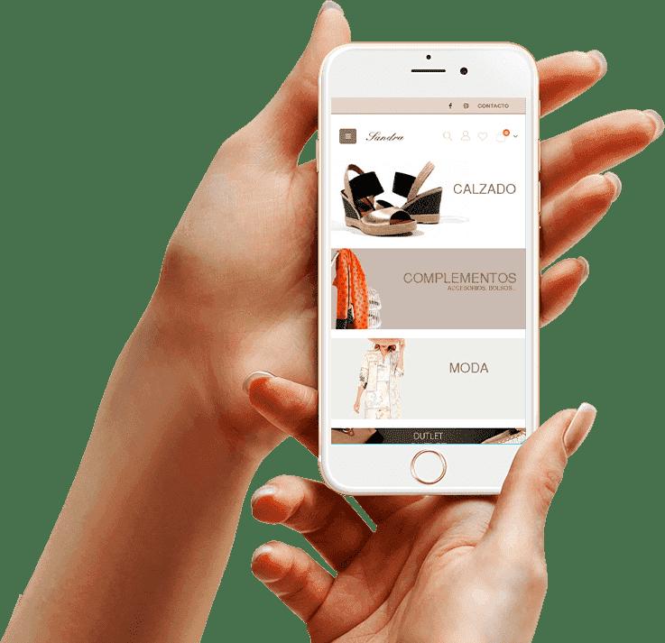 diseño tienda online iPhone6