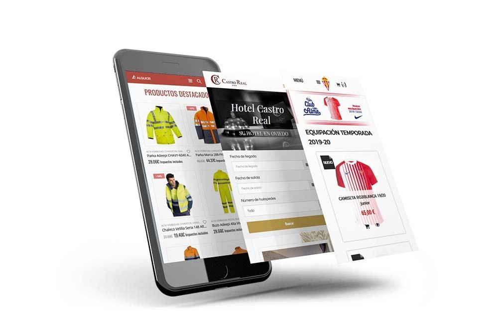 diseño web smartphone