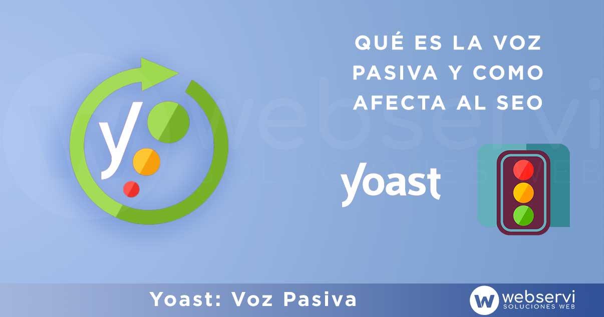 Voz Pasiva Yoast