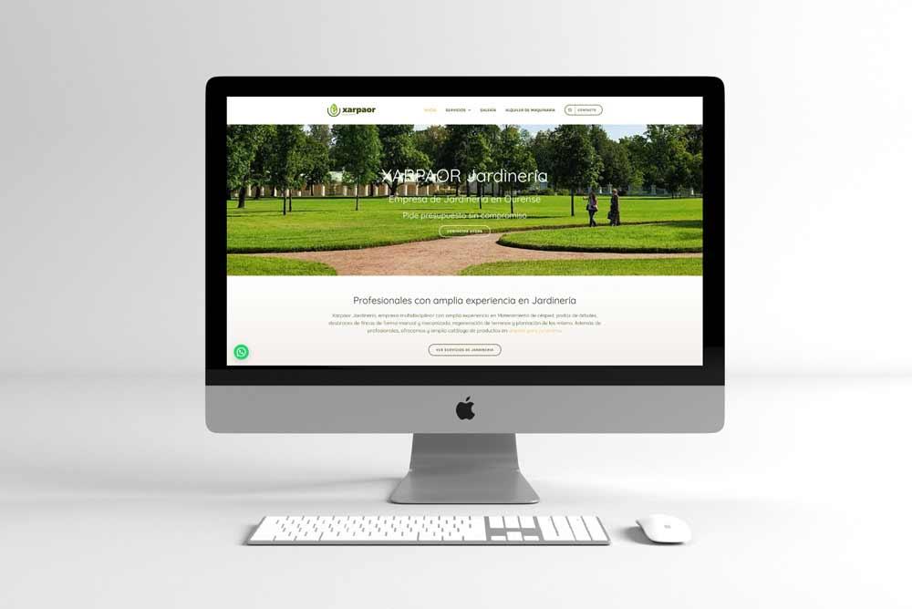 Diseño Web para Xarpaor iMac