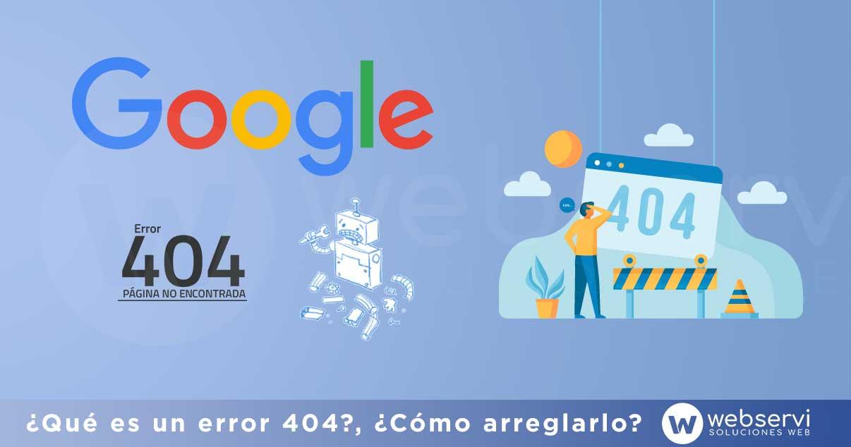 Qué es un error 404 y a qué afecta