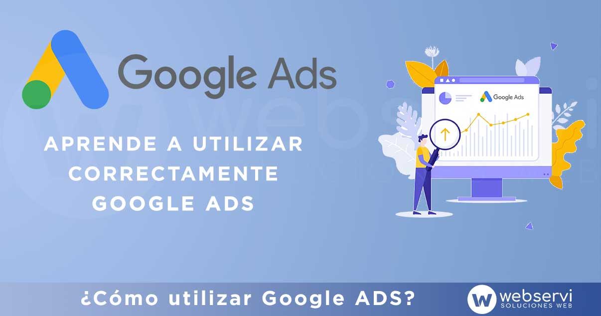 Manejar correctamente Google Ads