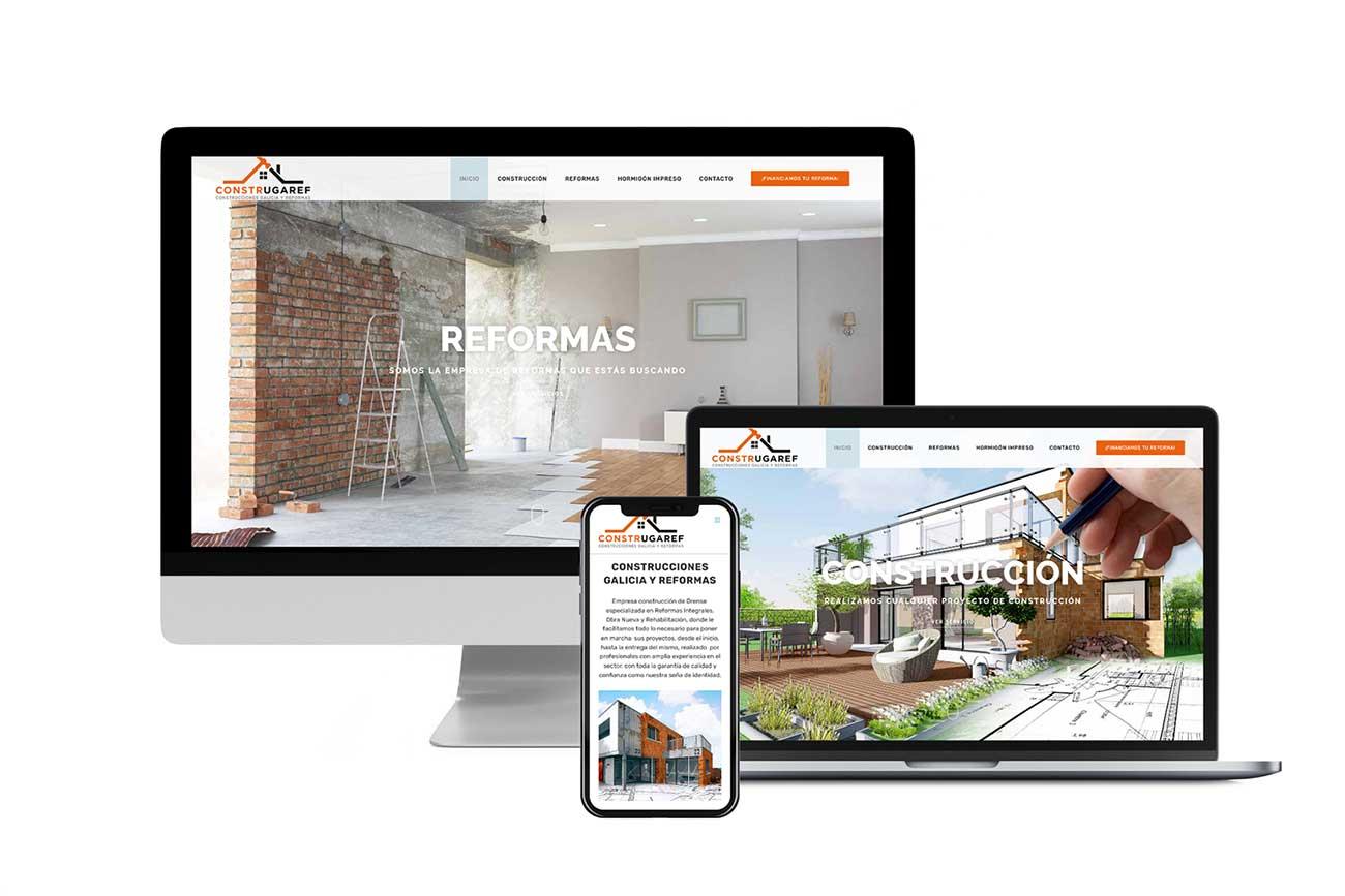 Diseño Web Construgaref