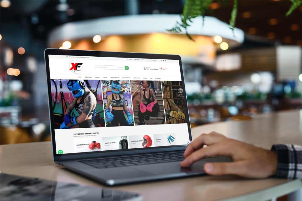 Diseño Tienda Online XF-Premium MacBook