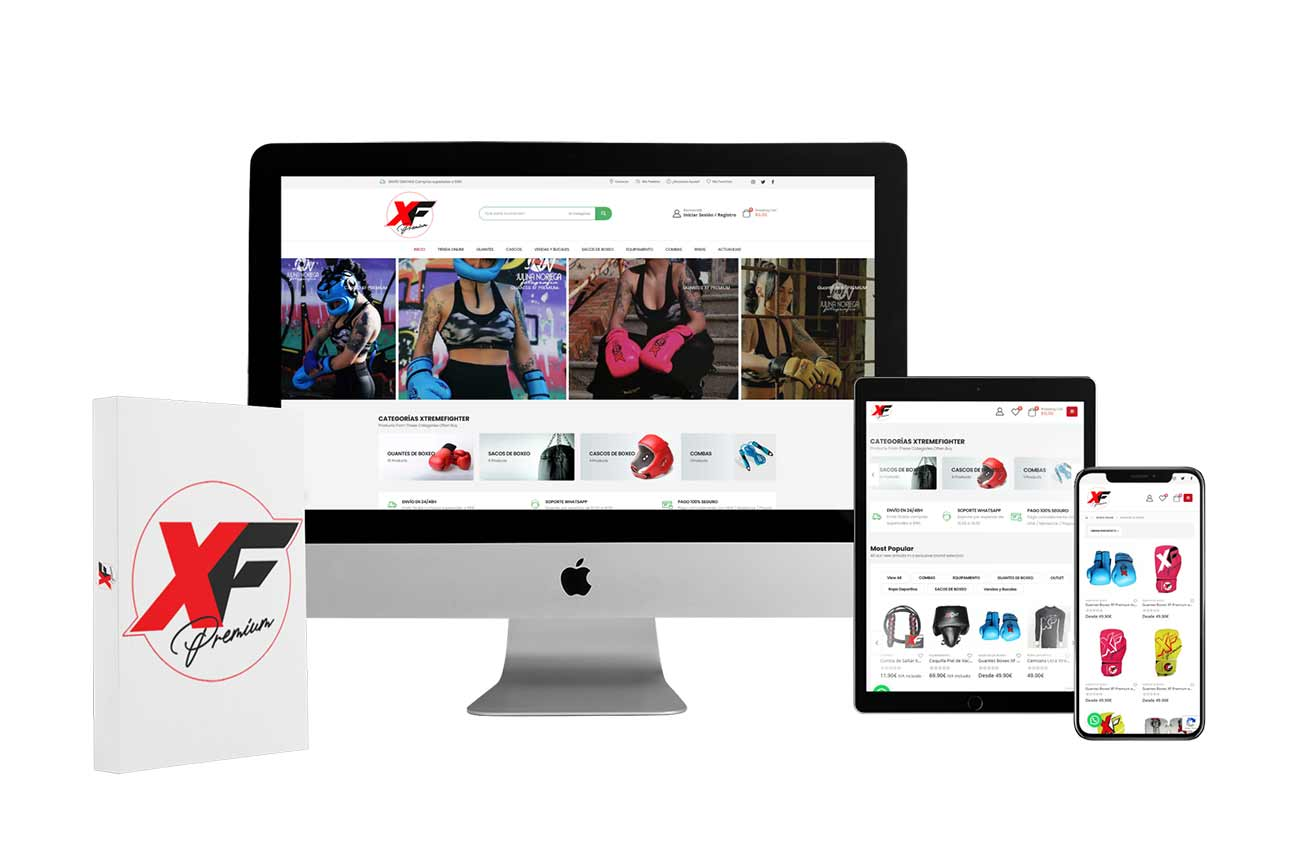 Diseño Tienda Online XF-Premium