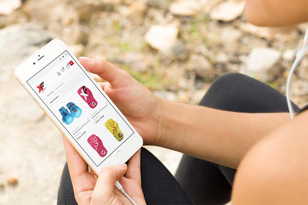 Diseño Tienda Online XF-Premium iPhone