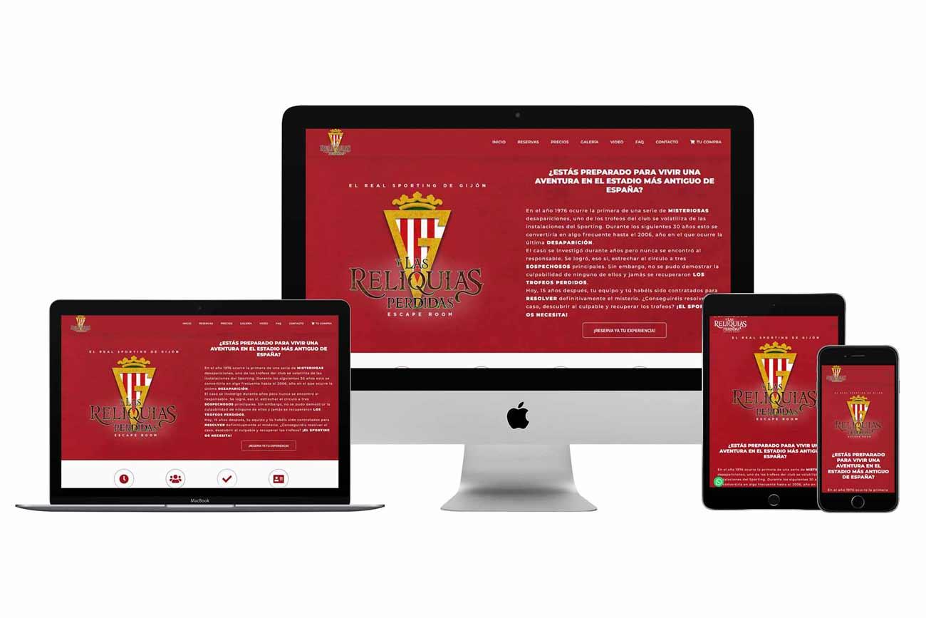 Diseño página web Onepage
